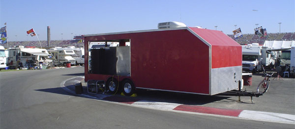 Catering at California Speedway