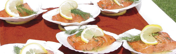 Dill Glazed Salmon